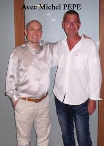Avec Michel PEPE